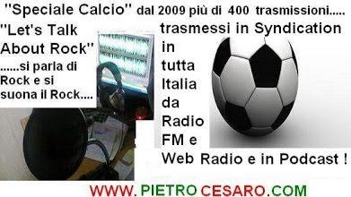 """""""Ascolta il Podcast Speciale Calcio"""""""
